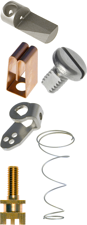 custom fabricated metal and plastic components